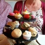 Traditional Afternoon Tea - lush !