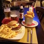 Hamburger, Finger Fish N' Chips e Birra!!!