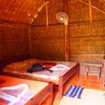 chambre basique au sol