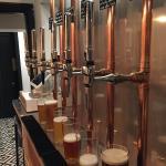 Copper Beer Taps