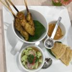 This is my favorite restaurant in Chiang Mai.  I stay in the old part of the city and there is s