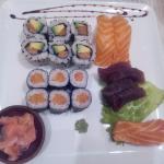 petit menu + sashimi