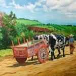 Traditional Costa Rican Cart