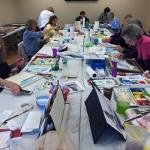"""""""Local Colors"""" watercolor class with Gerilyn Gaskill"""