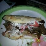 Delicious Authentic Gyro Sandwich!