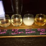 Sake sampler
