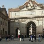 Harrys'Bar adentro, vista desde mesa y puerta de Villa Borghese