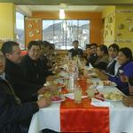 El almuerzo de navidad de la familia Qalasaya
