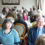 Not a glum face in sight! CPRE-IW Members enjoying their Luncheon.