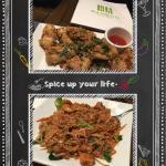 Salt n Pepper Calamari & Prawn Pad Thai