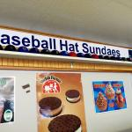 Baseball Hat Sundaes