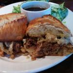 Wow i just this amazing Blue Cheese Beef dip a great recommendation from the bartender! I will b