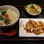 House Udon with Veggie Croquettes