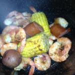 Low Country Boil in a pot