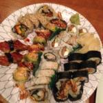 Loads of sushi