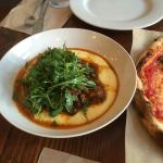 Braised Bailey and Long Pork Shoulder over polenta