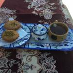 Tea and iranian sweets