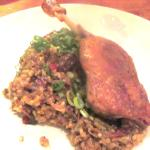 Liberty Farms Crispy Duck Confit, Boxing Room, San Francisco, Ca