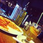 Пицца с прошуто и глинтвейн