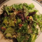 Pear Pecan Blue Cheese Salad