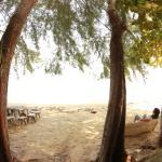 On peut manger sur la plage