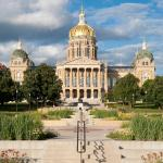 Iowa State Capitol And Gardens