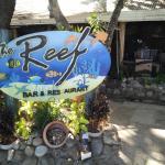 the Reef, restaurant inside the resort