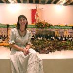 Elena Orzan, direttrice Enoteca Cooperativa Cormòns, poliglotta, fine degustatrice, vasta conosc