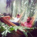 nothing like chilling in our hammocks