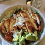 Chicken Cesar salad