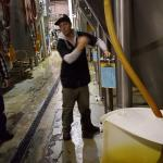 Our tour guide explains fermentation.