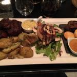 L assiette gourmande ( terroir)