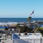 Pismo Beach Pier from the Hotel