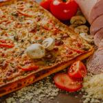 Вкусная кремлевская пицца