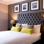 A bedroom at the Bulls Head