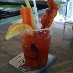 Best Bloody Mary on the island. Natalie special