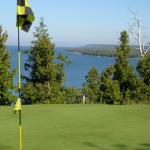Enjoy fantastic views from Alpine Resort & Golf's 36 hole course.