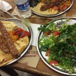 Really Turkish! Kebab is amazing and yammie. Big space and fast service.