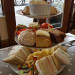 Lovely afternoon tea just moved to area and what a find definitely be back