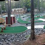 Handicap accessible putt-putt golf.
