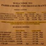 Parramore's Restaurant Too
