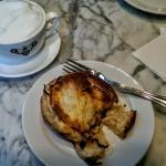 Walla Walla Onion Feuillette and Cappuccino
