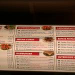 Doner kebab menu 2