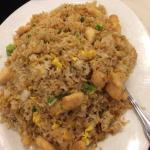 Diced Chicken with Salty Fish Fried Rice