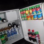 Fridge, missing a few items!!