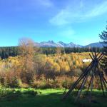 View from the upper Gardens in fall.