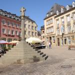Krzyż Sprawiedliwości na Rynku w Echternach