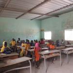 Visite d'une école de Brousse