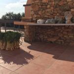Comedor y terraza exterior