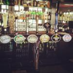 Draught beers om tap